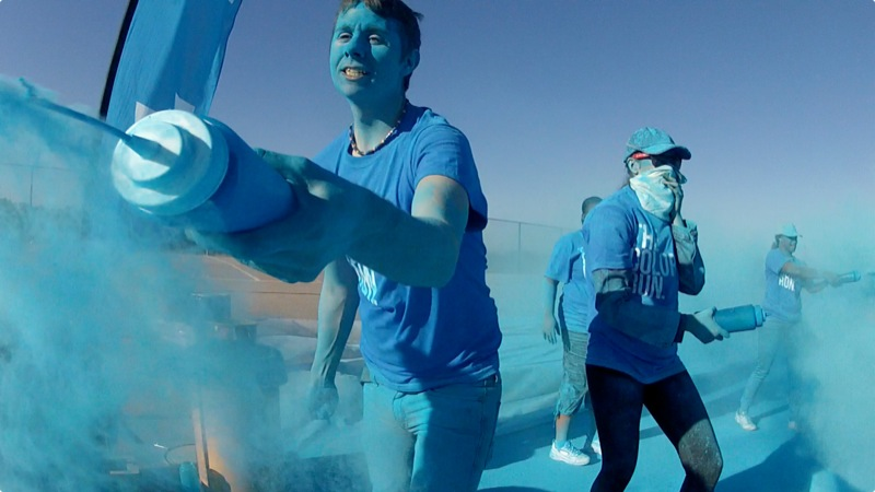 Sample photo from the Color Run