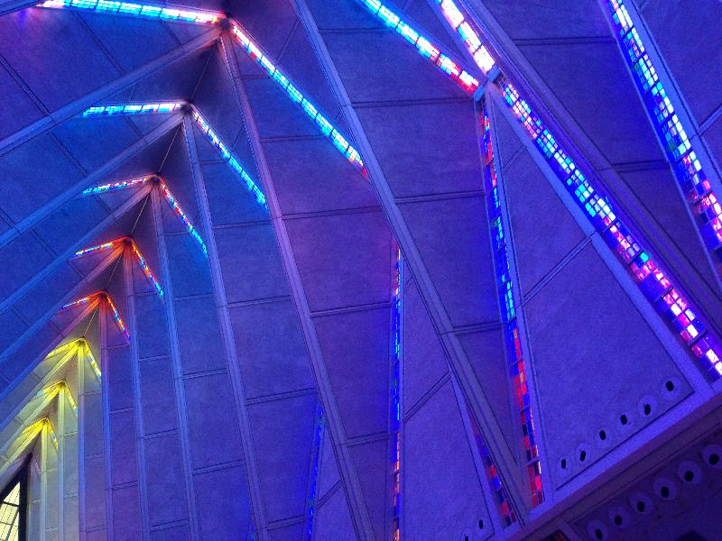 Sample photo from the Air Force Academy Cadet Chapel